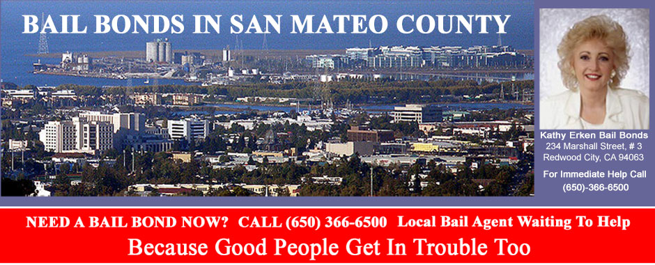 Kathy Erken Bail Bonds in San Mateo County